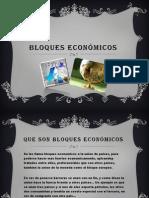 Bloques Económicos