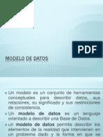 Modelado de Datos y Er