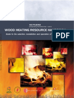 HB 170-2002 Wood Heating Resource Handbook Guide to the Selection Installation and Operation of Wood Heaters