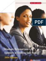 HB 185-2004 Human Resources - Guidelines on Emerging Good Practice