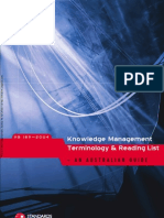 HB 189-2004 Knowledge Management Terminology and Readings - An Australian Guide