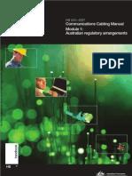 HB 243-2007 Communications Cabling Manual - Module 1- Australian Regulatory Arrangements