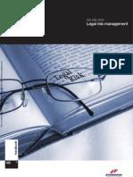 HB 296-2007 Legal Risk Management