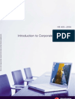 HB 400-2004 Introduction to Corporate Governance