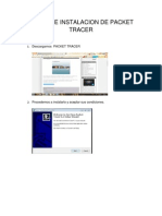 Pasos de Instalacion de Packet Tracer