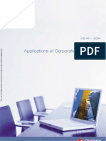 HB 401-2004 Applications of Corporate Governance