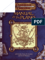3E - Manual of the Planes