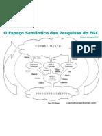 Espaço semântico das pesquisas do EGC