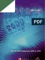 HB 90.0-2000 the ISO 9001 Comparison - 2000 vs 1994 the ISO 9001 Comparison - 2000 vs 1994