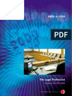 HB 90.6-2000 the Legal Profession - Guide to ISO 9001-2000 the Legal Profession - Guide to ISO 9001-2000
