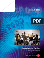 HB 90.7-2000 Education and Training - Guide to ISO 9001-2000 Education and Training - Guide to ISO 9001-2000
