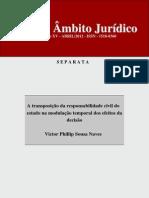 Separata - A transposição da responsabilidade civil do estado na modulação temporal dos efeitos da decisão