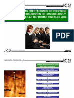 Prevision Social y Reforma 2008