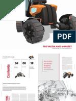 Valtra ANTS Concept Design de Um Trator
