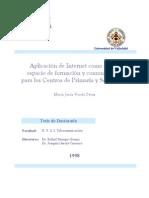 Aplicacion de Internet Como Nuevo Espacio de Formacion y Comunicacion Para Los Centros de Primaria y Secundaria 0
