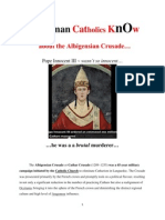 Do RCs Know About Catholic Church's Genocide