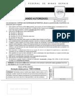 FISICA 2012 - 2ª etapa UFMG