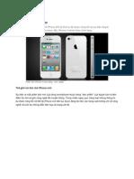 huong dan su dung iPhone 4s Chi Tiet