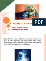 Alimentos próbioticos
