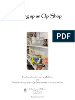 Setting Up an Op Shop Revised October2010