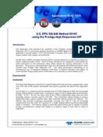 1035 - Analysis of Soil Using EPA SW-846 Method 60 IOC With the Prodigy ICP