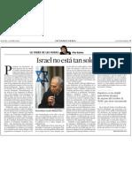 Pilar Rahola. Israel No Está Tan Solo