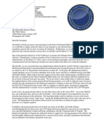 Coastal governors' letter to Obama on 5-year OCS plan