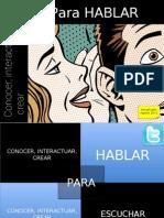 Conocer Interactuar Crear Para Hablar NT2 #GCcSI