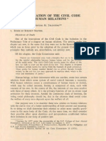 An Examination of the Civil Code on Human Relations p. 1-46
