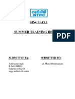 Summer Training Report on Ntpc