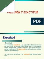 Precision y Exactitud (Ejemplos Ilustrativos)