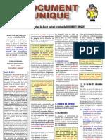 Circulaire Document Unique