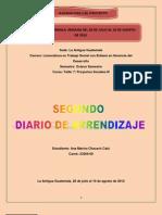2do. Diario de Aprendizaje