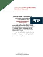 Código Penal para el Estado de Nuevo León