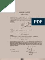 67866704 Fisica Ejercicios Resueltos Soluciones Fluido Electrico Ley de Gauss