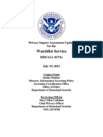 Privacy Pia Dhswide Wls Update027(b) DHS Privacy Documents for Department-wide Programs 08-2012