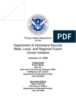 Privacy Pia Ia Slrfci DHS Privacy Documents for Department-wide Programs 08-2012