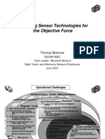 Emerging Sensor Technologies for the Objective Force
