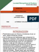Diapositiva de Pobreza y Exclusion Social
