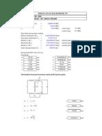 Desain Balok WF-SNI 2002-1