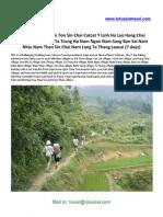 Trekking Vietnam Sapa Laocai