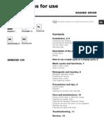 Manual Masina de Spalat Ariston