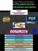 Material Selection for Food Packaging Material