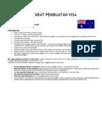 Syarat Pembuatan Aussie