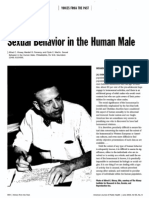 Alfred Kinsey. Sexual Behavior in the human male.