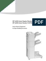 LJ 8000_Mopier 240 3000-Sheet Stacker_Stapler SM