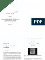 The Operational Amplifier Abstarction
