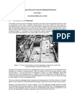 Precast Frame - 5 Floor Diaphragms