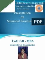 COE Presentation