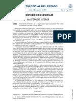Real Decreto 1070/2012, de 13 de julio, por el que se aprueba el Plan estatal de protección civil ante el riesgo químico.
